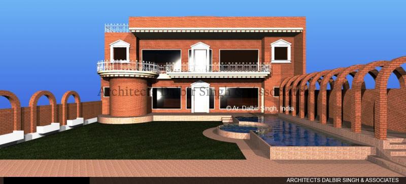Modern Home Design Architecture Dalbir Singh
